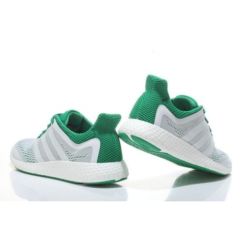 Кроссовки Adidas Pure Boost Wh-Green (W321)
