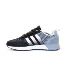 Кроссовки Adidas Neo Black/Grey (W325)