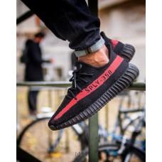 Кроссовки Adidas Adidas Yeezy Boost 350 SPLY V2 Black-red (W515)
