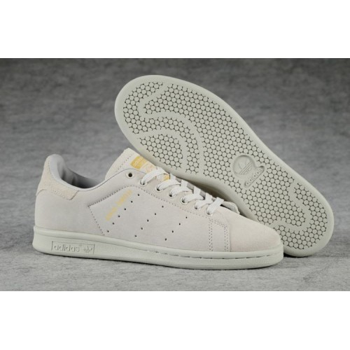 Кроссовки Adidas Consortium Stan Smith All Grey (W016)