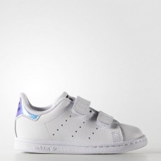 Кроссовки Adidas Stan Smith Strap Iridescent (W017)