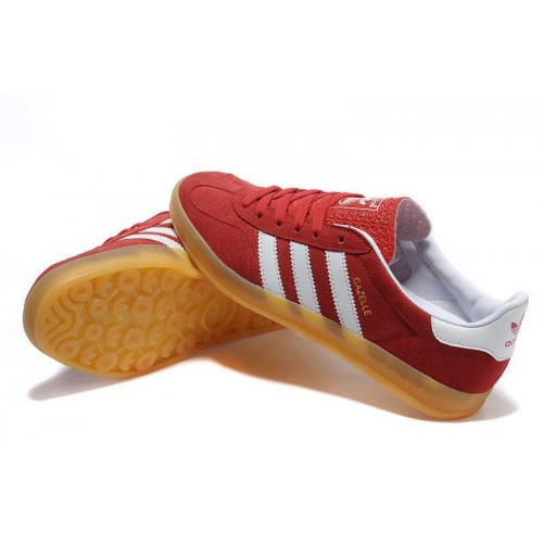 Кроссовки Adidas Originals Gazelle Indoor Red (W312)