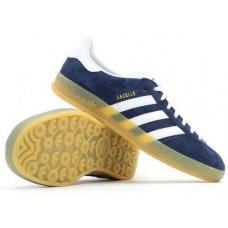 Кроссовки Adidas Originals Gazelle Indoor Blue (W314)