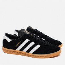 Кроссовки Adidas Hamburg Black/White (WV121)