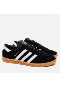Кроссовки Adidas Hamburg Black/White (WV121)