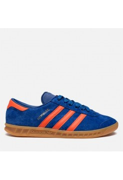 Кроссовки Adidas Hamburg Blue/Orange (W122)