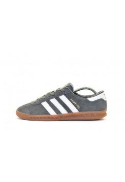 Кроссовки Adidas Hamburg Grey/White (W133)