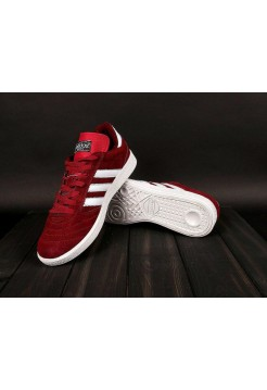 Кроссовки Adidas Busenitz Red/White (W328)