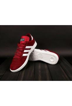 Кроссовки Adidas Busenitz Red/White (W328)