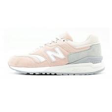 Кроссовки New Balance 997 Pink Grey (Е412)