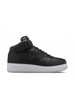 Кроссовки Nike Lab Air Force 1 Mid CMFT Black (Е216)
