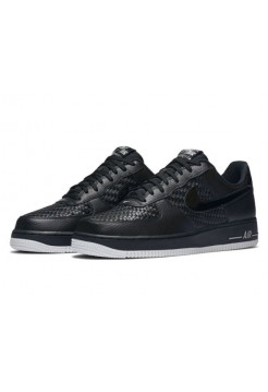 Кроссовки Nike Air Force 1 Low Black-Summit White (Е281)