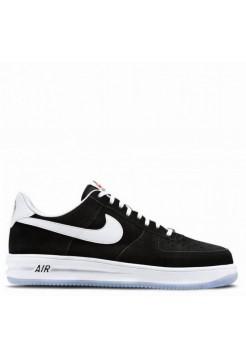 Кроссовки Nike Lunar Force 1 Black Suede (Е281)