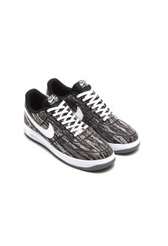 Кроссовки Nike Lunar Force 1 Jacquard Black White (Е282)