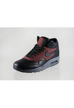 Кроссовки Nike Air Max 87 Mid Deluxe QS Black/Barkroot Brown (Е610)