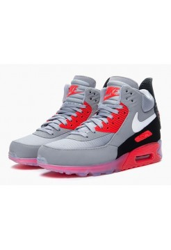 Кроссовки Nike Air Max 90 Sneakerboot Infrared (Е365)