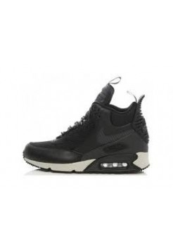 Кроссовки Nike Air Max 90 Sneakerboot Black (Е366)