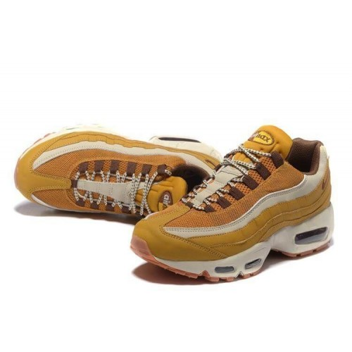 Кроссовки Nike Air Max 95 PRM Wheat/Cream (Е391)