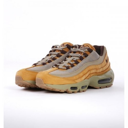 Кроссовки Nike Air Max 95 PRM Wheat (Е396)