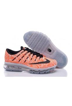 Кроссовки Nike Air Max 2016 Print Hyper/Orange (Е134)