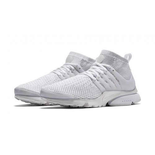 Кроссовки Nike Air Presto Ultra Flyknit White (Е211)