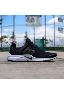 Кроссовки Nike Air Presto Low Black/White (Е212)