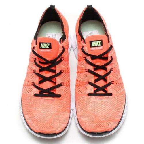 Кроссовки Nike Flyknit NSW Lava/White (E247)