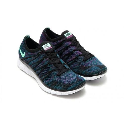 Кроссовки Nike Free Flyknit NSW Radiant Emerald (E249)