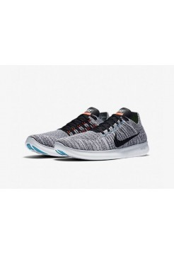 Кроссовки Nike Free Run Flyknit Grey Wind (Е121)