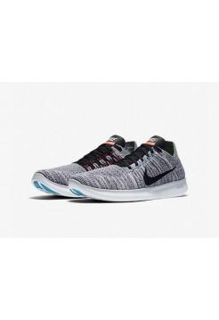 Кроссовки Nike Free Run Flyknit Grey Wind (Е121)