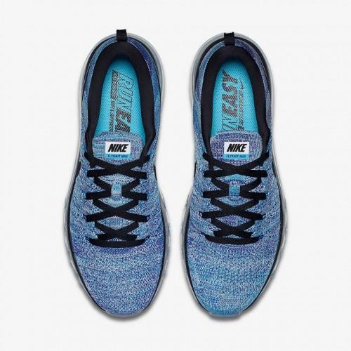 Кроссовки Nike Free Run Flyknit Chlorine Blue (Е123)
