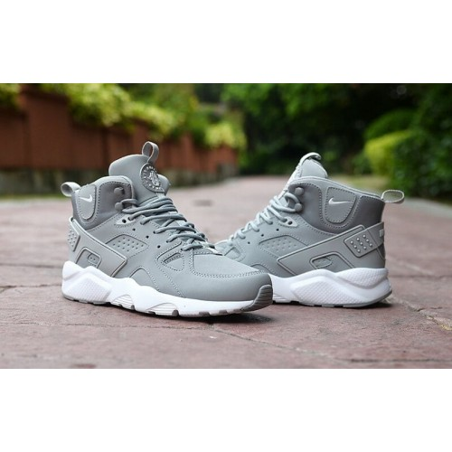 Кроссовки Nike Air Huarache Winter Grey (Е712)
