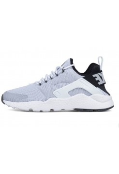 Кроссовки Nike Air Huarache Ultra White/Black (Е717)