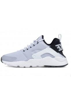 Кроссовки Nike Air Huarache Ultra White/Black (Е717)
