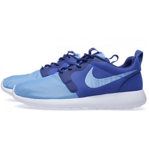 Кроссовки Nike Roshe Run Hyperfuse Blue (Е115)