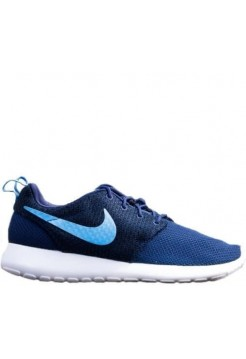 Кроссовки Nike Roshe Run Hyperfuse University Dark Blue (Е117)