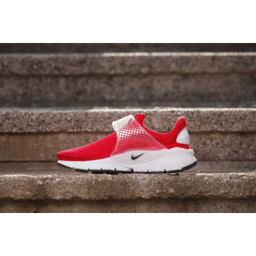 Кроссовки Nike Sock Dart SE Red (Е582)