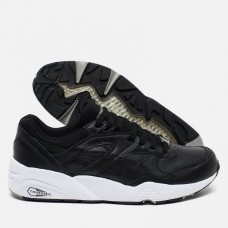 Кроссовки Puma R698 Core Leather Black (Е324)