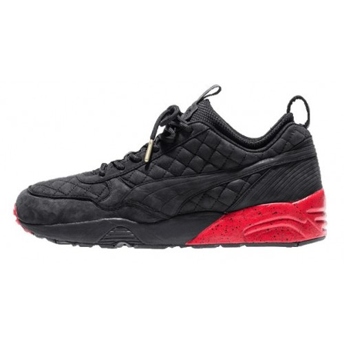 Кроссовки Puma R698 Ronnie Fieg Black/Red (Е325)