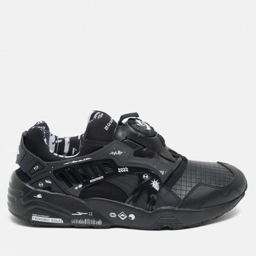 Кроссовки Puma Disc Blaze Black (Е617)