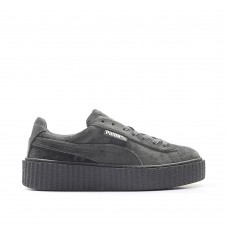 Кроссовки Puma Rihanna Creeper Velvet Grey (Е361)