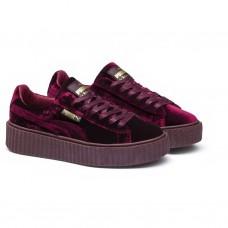 Кроссовки Puma Rihanna Fenty Creeper Velvet Royal/Purple (Е362)