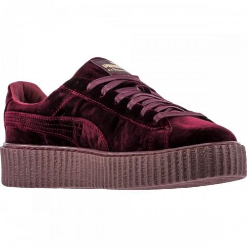 Кроссовки Puma Rihanna Fenty Creeper Velvet Royal/Purple (Е362)