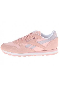 Кроссовки Reebok Classic Leather Patina Pink (Е211)