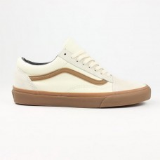 Кеды Vans Old Skool White Suede Gum (W101)