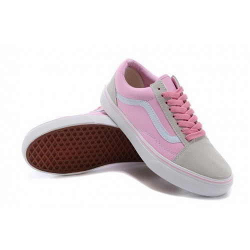 Кеды Vans Old Skool Rose/Grey (W102)
