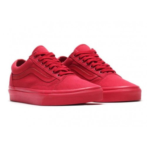 Кеды Vans Old Skool All Red (W103)