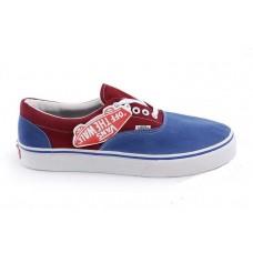 Кеды Vans Era Blue-Bordo (W106)
