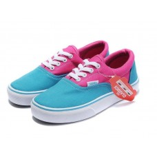 Кеды Vans Era Blu-Pink-White (W115)