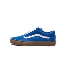 Кеды Vans Old Skool Blue-White Gum (W138)